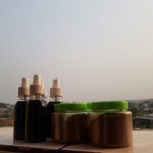 chebe powder and karkar oil