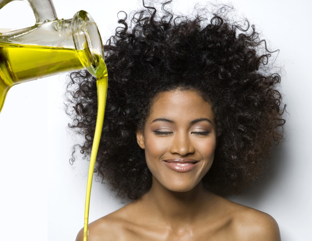 Olive-Oil for afro hair