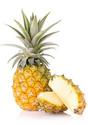 Healthy Fruits  in africa ;pineapple GLB