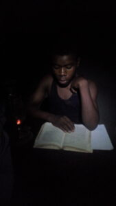 studying  with out electricity